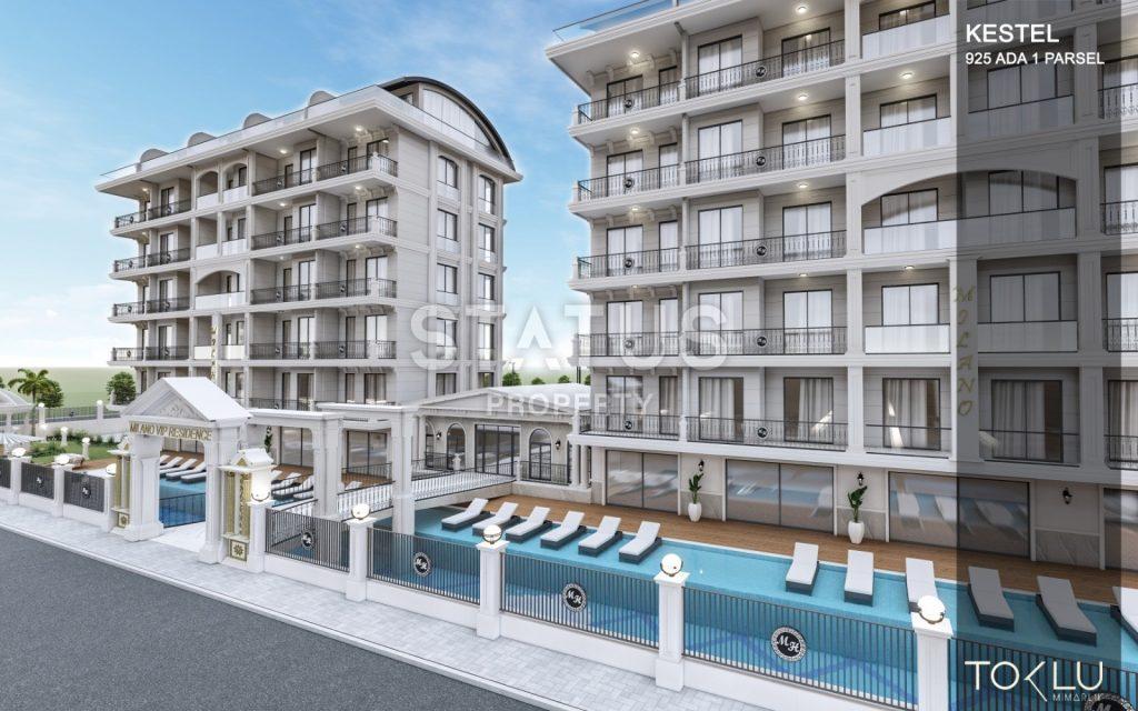 Инвестиционный проект в престижном районе Кестель! Всего в 150 метрах от побережья!