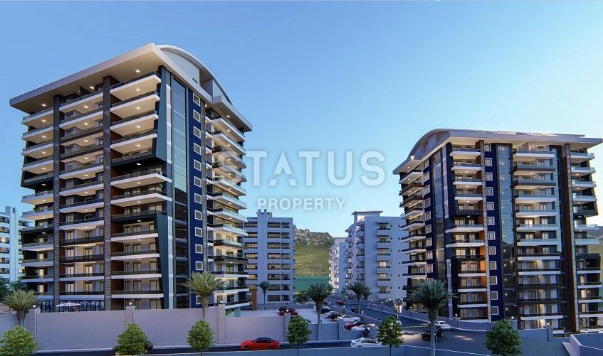 Новый комплекс в Махмутларе! Квартиры для жизни с удобными планировками.